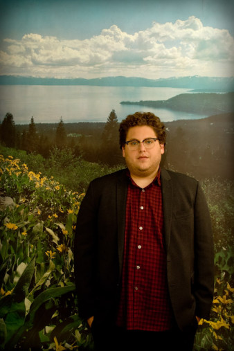 Jonah Hill portrait by Victoria Jacob